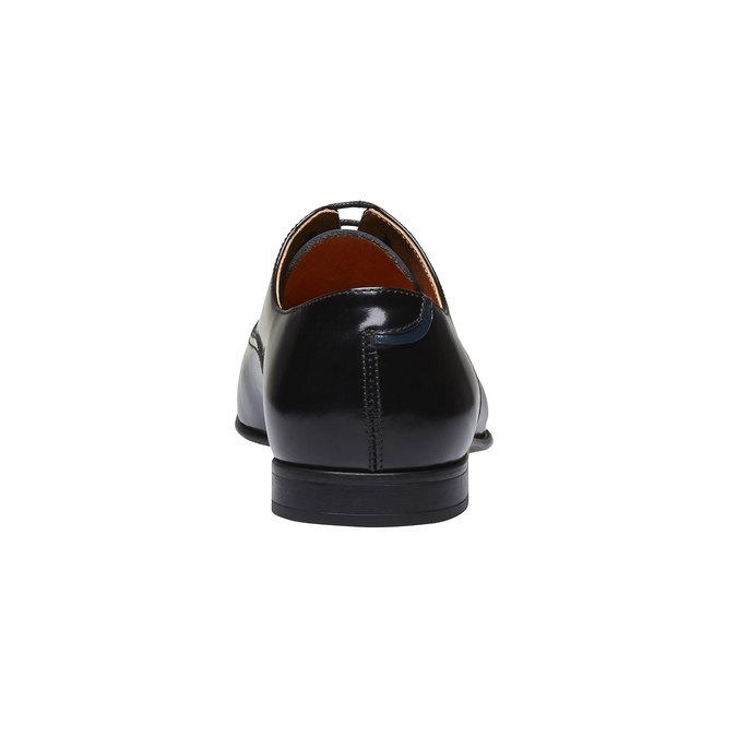 Pánske poltopánky z lakovanej kože bata, čierna, 828-6796 - 17