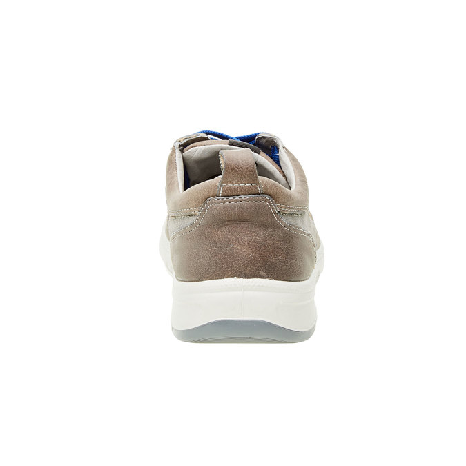 Pánska vycházková obuv, šedá, 843-2631 - 17