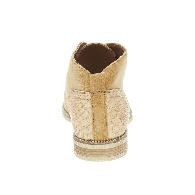 Členkové poltopánky bata, hnedá, 591-4132 - 17