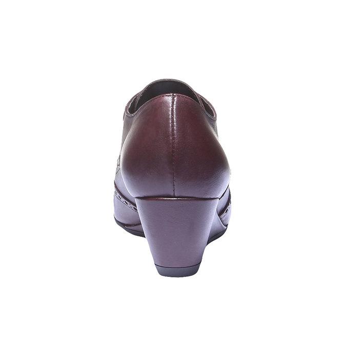 Dámska členková obuv bata, červená, 624-5142 - 17