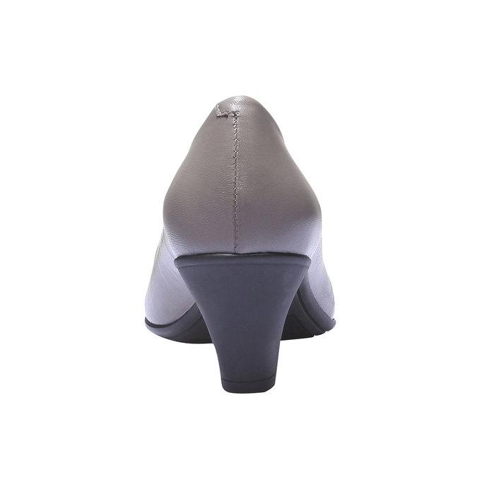 Lodičky so špičkou flexible, šedá, 624-8221 - 17