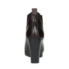 Kožená členková obuv na vysokom podpätku bata, 796-5605 - 17