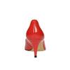 Dámske červené kožené lodičky bata, červená, 628-5630 - 17