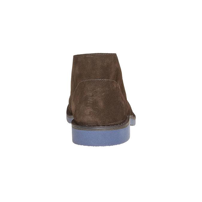 Členková obuv ve štýle Chukka bata, hnedá, 893-4275 - 17