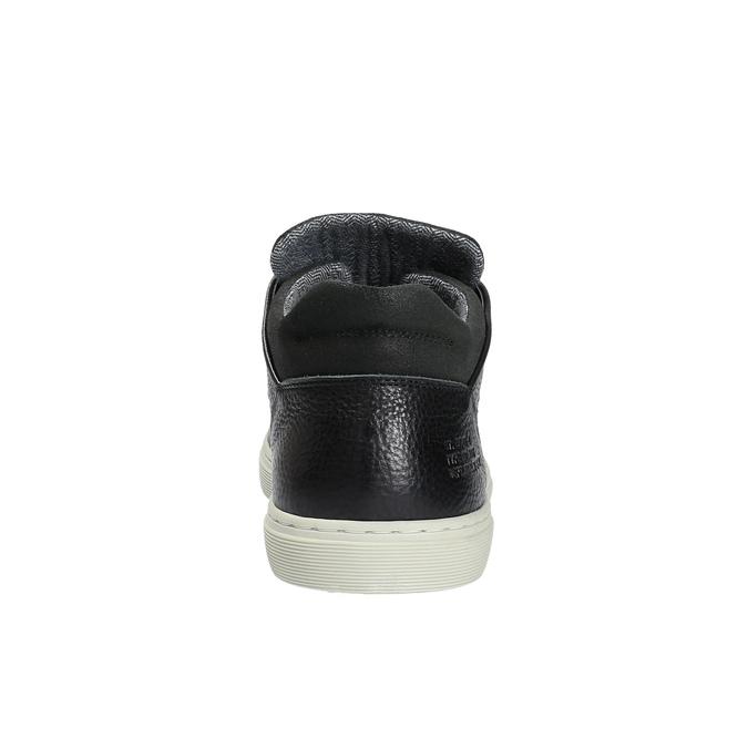 Pánske ležérne tenisky bata, čierna, 844-6624 - 17