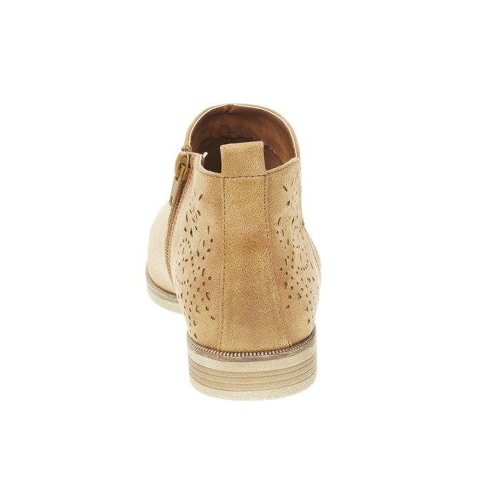Jarné členkové čižmy bata, hnedá, 591-4100 - 17