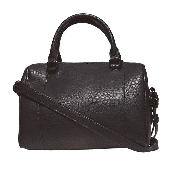 Dámská kabelka s kovovými cvočkami bata, čierna, 961-6640 - 26