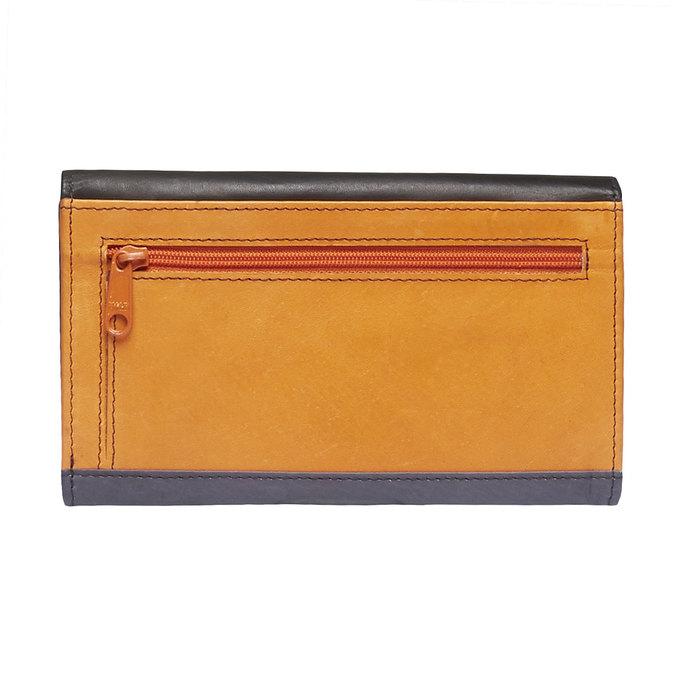 Dámska kožená peňaženka bata, čierna, 944-6156 - 26