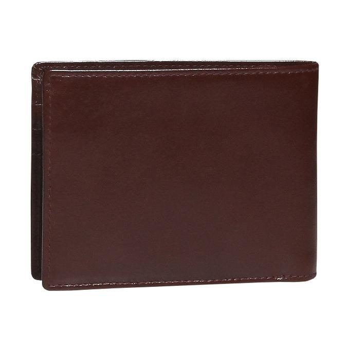 Pánska kožená peňaženka bata, hnedá, 944-4122 - 26