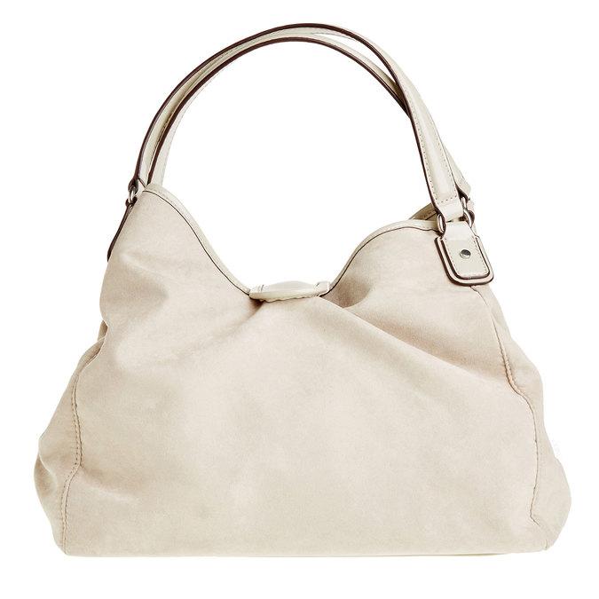 Dámska kabelka bata, béžová, 969-3280 - 26