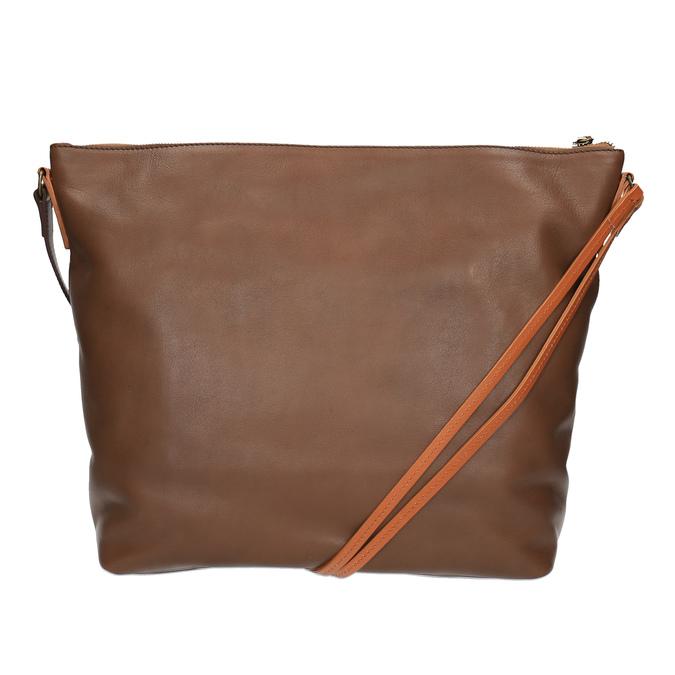 Kožená Crossbody kabelka weinbrenner, hnedá, 964-4201 - 19