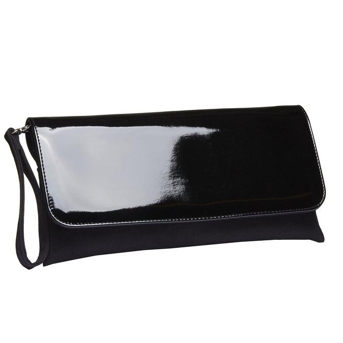 Dámska listová kabelka bata, čierna, 969-6313 - 13