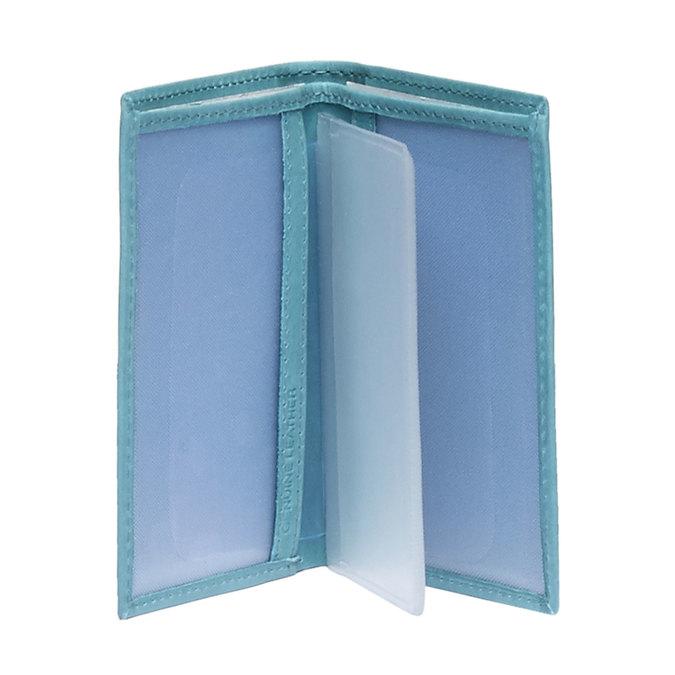 Kožené púzdro na karty bata, modrá, 944-9158 - 15