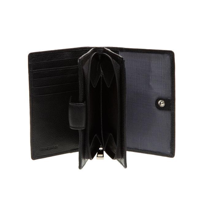 Kožená peňaženka bata, čierna, 944-6117 - 15