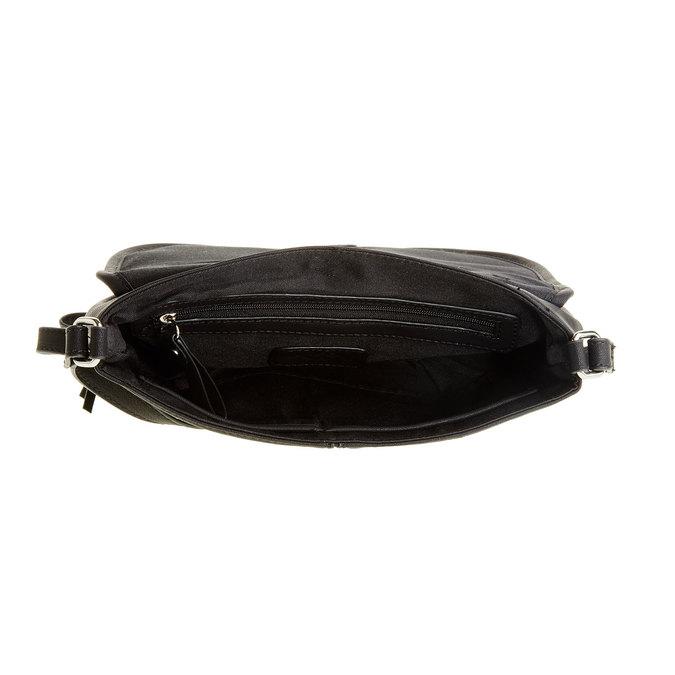 Crossbody kabelka so strapcom bata, čierna, 961-6759 - 15