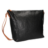 Kožená Crossbody kabelka weinbrenner, čierna, 964-6201 - 13