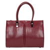 Červená kabelka s pevným dnom bata, červená, 961-5879 - 19