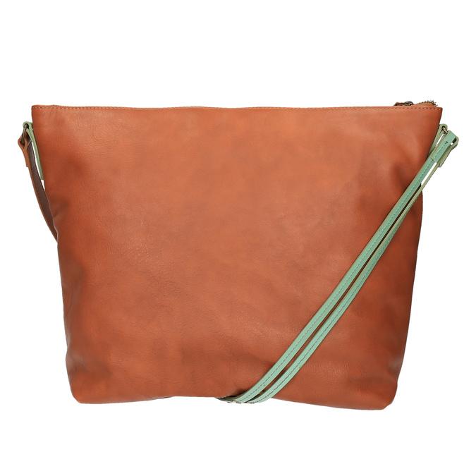 Kožená Crossbody kabelka weinbrenner, hnedá, 964-3201 - 19