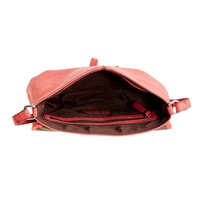Crossbody kabelka so strapcom bata, červená, 961-5759 - 15
