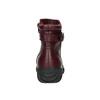 Dámska kožená zimná obuv bata, červená, 596-5347 - 17