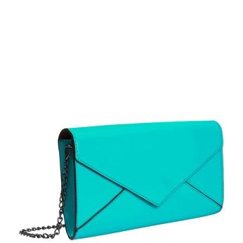 Tyrkysová dámska listová kabelka bata, 961-7624 - 13