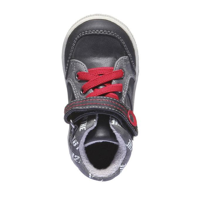 Detská obuv mini-b, čierna, 111-6102 - 19