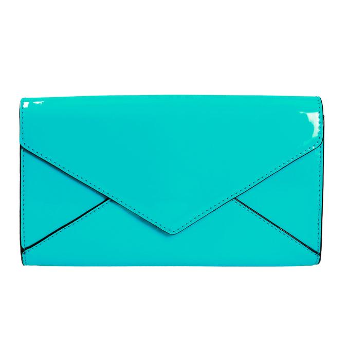 Tyrkysová dámska listová kabelka bata, 961-7624 - 19