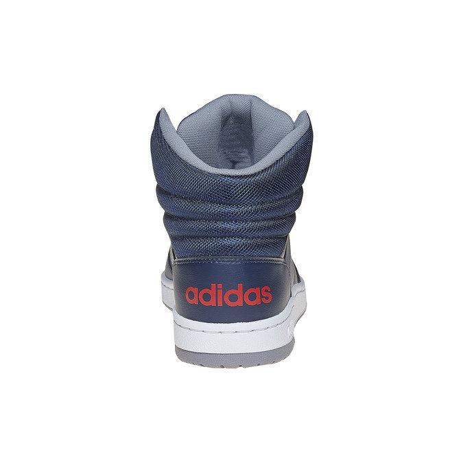 Pánske členkové tenisky adidas, modrá, 801-9240 - 17