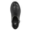 Detská členková obuv so strapcom mini-b, čierna, 391-6266 - 19