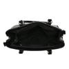 Čierna kabelka v lakovanej úprave bata, čierna, 961-6619 - 15