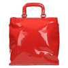 Červená dámska kabelka do ruky bata, červená, 961-5606 - 19