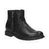 Detská členková obuv so strapcom mini-b, čierna, 391-6266 - 13