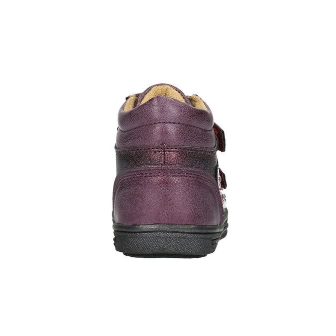 Detská členková obuv bubblegummer, fialová, 121-9610 - 17