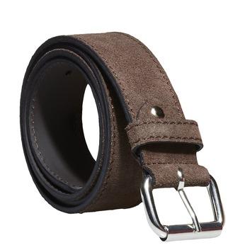 Kožený pánsky opasok bata, hnedá, 953-4106 - 13