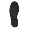 Detská členková obuv s pružným bokom mini-b, čierna, 321-9602 - 26