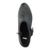 Kožené členkové čižmy vo Western štýle bata, čierna, 696-6610 - 19