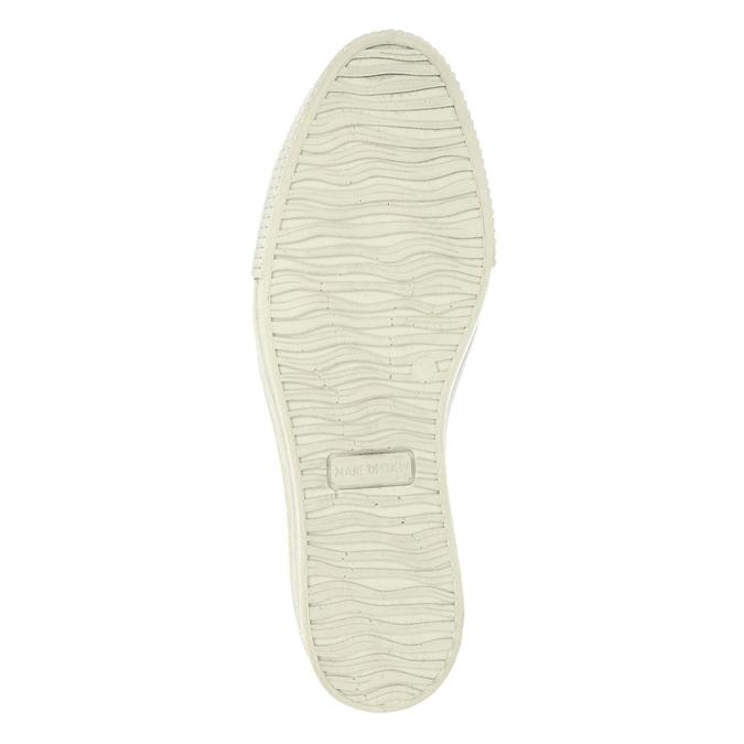 Kožené Slip-on na širokej podrážke bata, hnedá, 526-4605 - 26