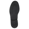 Lakované poltopánky na výraznej podrážke bata, čierna, 521-6600 - 26