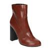 Členková obuv na širokom podpätku bata, hnedá, 791-4611 - 13