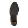 Dámská členková obuv na vysokom podpätku bata, béžová, 799-2603 - 26