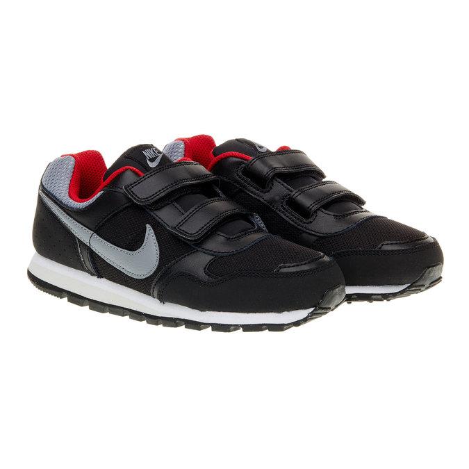 Detská športová obuv nike, čierna, 303-6132 - 26