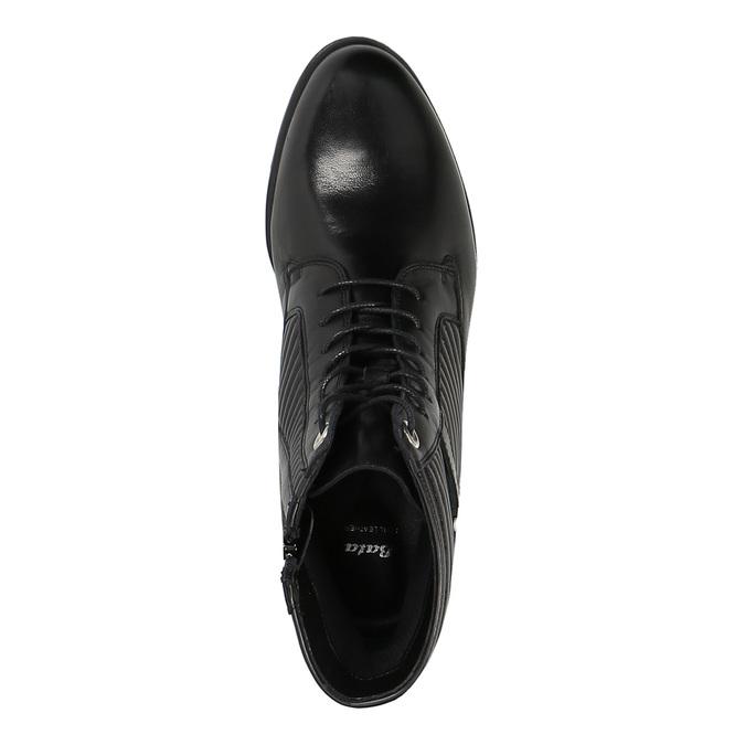 Dámska členková obuv bata, čierna, 594-6617 - 19