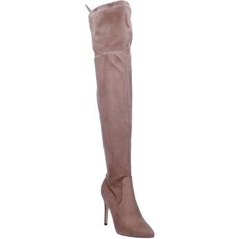 Dámske čižmy nad kolena bata, hnedá, 799-3600 - 13