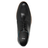 Kožené pánske poltopánky bata, čierna, 826-6643 - 19