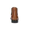 Dámske kožené Chelsea boots bata, hnedá, 594-3902 - 17
