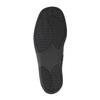 Kožená členková obuv so zipsom bata, čierna, 594-6634 - 26