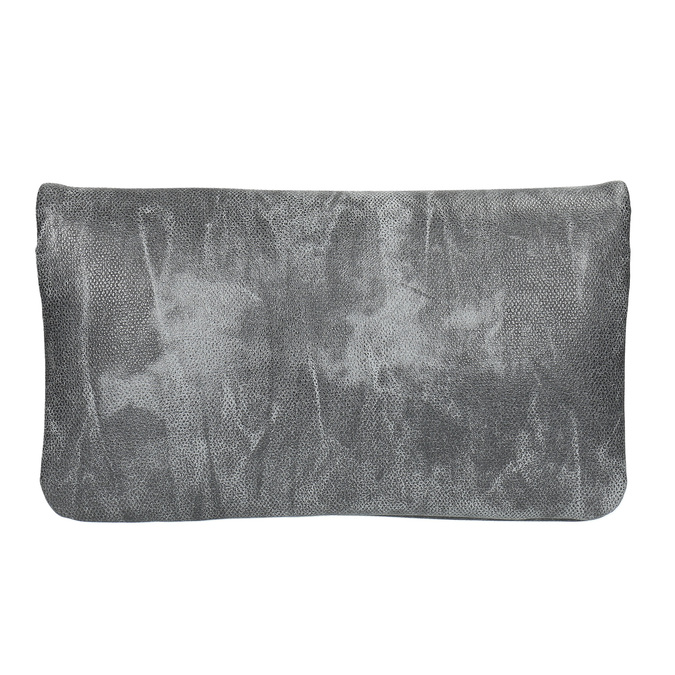 Šedá listová kabelka bata, šedá, 961-6668 - 19