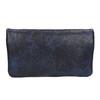 Dámska listová kabelka s remienkom na zápestí bata, modrá, 961-9668 - 19