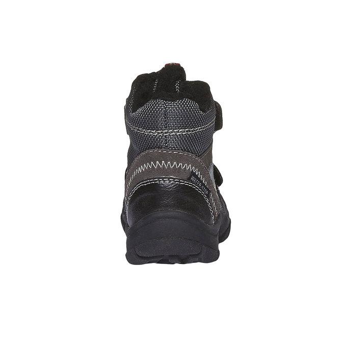 Detská obuv mini-b, šedá, 199-2102 - 17