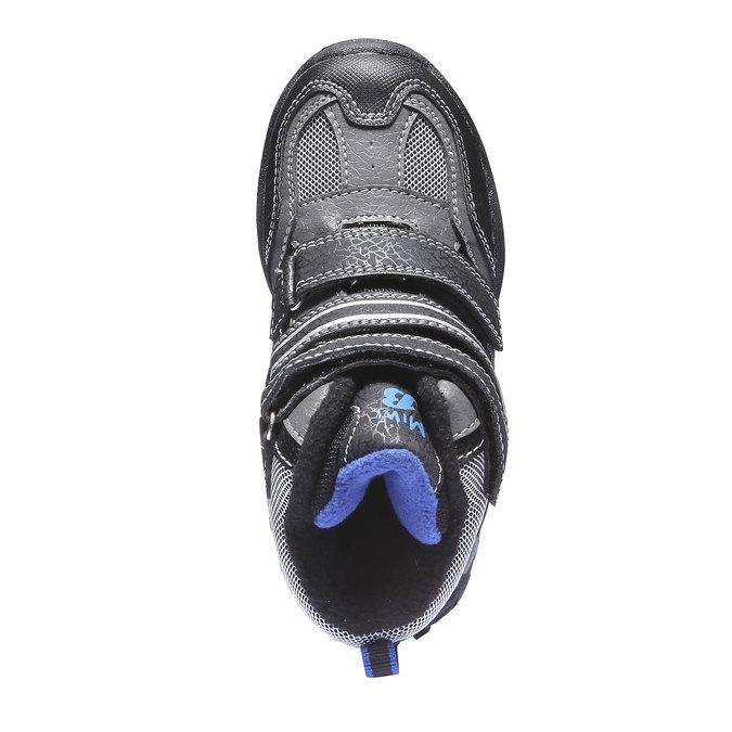 Detská obuv mini-b, šedá, 291-2100 - 19